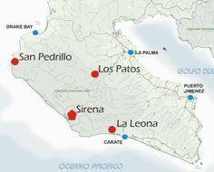 Corcovado National Park: Ranger Stations
