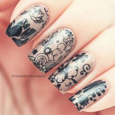 478 Best Konad Nail Art Polish Stamping Patterns Images On Pinterest