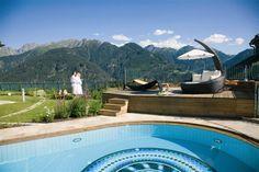Wellnessresidenz Schalber Serfaus - Sole-Pool