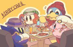 Kirby cafe