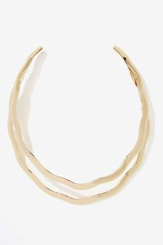 Do the Wave Collar Necklace