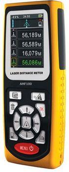 Laser Distance Meter AMF100X - Digital Meter Indonesia