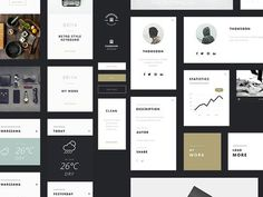 A free Photoshop UI Kit with over 55 graphics for personal and commercial use. Tomasz Mazurczak is an Opole, Poland based Front-End Developer, UI Flat Web Design, App Design, Clean Design, Ui Kit, Photoshop, Mobile Web Design, Ui Elements, Website Themes, User Interface