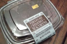 Trader Joe's Chocolate Coconut Macaroons!