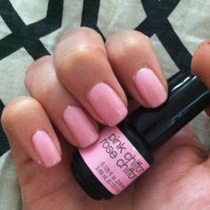 SensatioNAIL by Nailene Pink Chiffon. Never paying for a Gel Mani again!