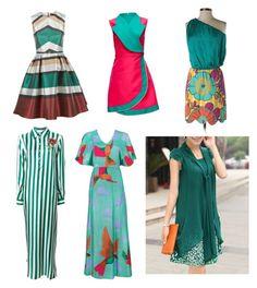 """Complimentary colors 2"" by sveta-afanasyeva on Polyvore featuring мода, Elie Saab, Lattori, Judith March, Dolce&Gabbana и Hanae Mori"