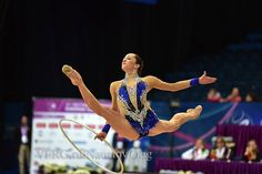 Neta Rivkin (Israel) won bronze in hoop finals at Grand Prix Holon 2015