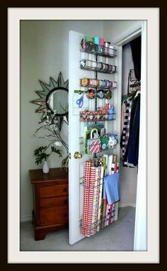 I really have so much ribbon....this is a great storage idea.