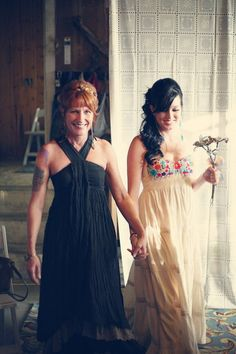 Care to share a few vendor/shopping links? Photography: Danielle Byrd Dress: Aida Coronado Venue: Branstrator Farm Enough talk — show me the wedding porn! Fit And Flare Wedding Dress, Country Wedding Dresses, Wedding Dresses Plus Size, Wedding Dress Sleeves, Princess Wedding Dresses, Modest Wedding Dresses, Boho Wedding Dress, Mexican Embroidered Dress, Rainbow Wedding
