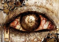 The Dark and Macabre Art appreciation thread [Not for the faint of heart] Art Macabre, Eye Parts, Body Parts, Realistic Eye Drawing, Look Into My Eyes, Human Eye, Gothic Art, All About Eyes, Evil Eye