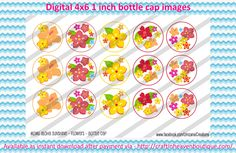 "1"" Bottle Caps m2mg aloha sunshine flowers  BCI RIBBON MATCHES M2M BOTTLE CAP IMAGES #M2M #bottlecapimages #bottlecap #BCI #shrinkydinkimages #bowcenters #hairbows #bowmaking #ironon #printables #printyourself #digitaltransfer #doityourself #transfer #ribbongraphics #ribbon #shirtprint #tshirt #digitalart #diy #digital #graphicdesign please purchase via link  http://craftinheavenboutique.com/index.php?main_page=index&cPath=323_533_42_51"