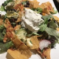 Fancy Loaded Nachos