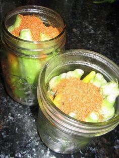 Okra Refrigerator Pickles   A Kitchen Canvas