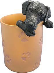 Black Lab Retriever  PenPencil Holder -- More info could be found at the image url.