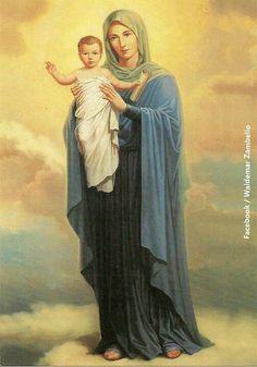 Rainha , e mãe da Fé ♥