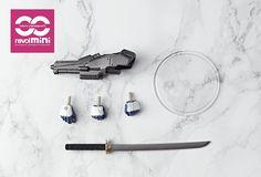 Amazon.com: Kaiyodo Revoltech Yamaguchi Mini Action Figure #005: Metal Gear Solid: Cyborg Ninja: Toys & Games