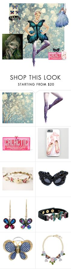 """""""Dreams or a Fairy Godmother"""" by bluehatter ❤ liked on Polyvore featuring Jean-Paul Gaultier, Charlotte Olympia, Gasoline Glamour, Betsey Johnson, Zorab and Dolce&Gabbana"""