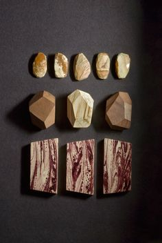 """A handmade necklace collection by Studio Fludd.               """"An attempt to explain the former changes of the earth's surface, by reference to causes now in operation."""" Charles Lyell – Principles of Geology, 1830.  A personal journey to the centre of the …"""