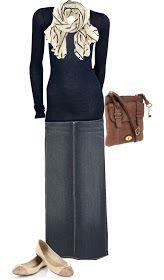 LOLO Moda: Pretty Maxi Skirts