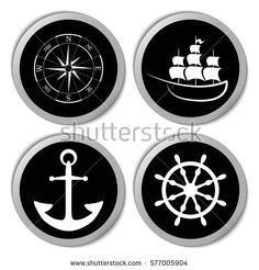 marine and vacation doodles miscellaneous icons marine web icons