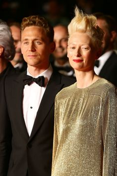 Tom + Tilda Beautiful! - Only Lovers Left Alive Premiere - The 66th Annual Cannes Film Festival