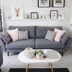 Confira dicas e vários modelos de sala cinza decorada para inspirar a decoração de sua sala e deixa-la muito mais sofisticada e moderna.