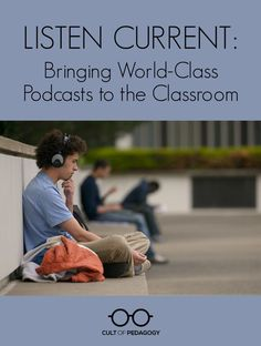 Podcasts make wonderful texts, and they're awesome for teaching listening skills. Listenwise is a platform that helps you make the most of them.