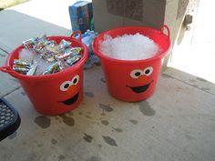 OCC: Obsessive Compulsive Crafting: Jack& Birthday- Elmo& World/ Sesame Street Elmo First Birthday, Boy Birthday Parties, Birthday Fun, Elmo Party, Mickey Party, Dinosaur Party, Dinosaur Birthday, Elmo Birthday Party Ideas, Sesame Street Birthday Party Ideas