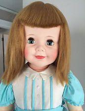 "1959 Madam Alexander Joanie Playpal 36"" Doll- RARE Factory Hair Style"