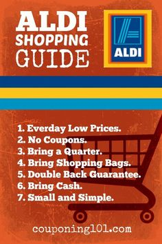 A simple guide to shopping and saving at Aldi discount supermarkets!