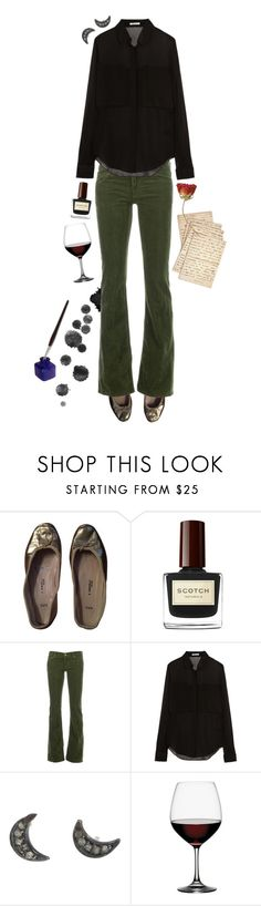 """Inky"" by sonus-silentio ❤ liked on Polyvore featuring E. Porselli, Golden Goose, T By Alexander Wang, Spiegelau and Cultura"