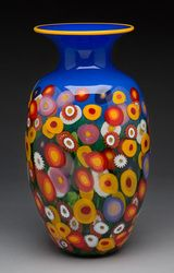Wildflower Large Vase, Mad Art Glass Studio
