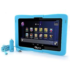 "460-389 - Kurio 10s 10"" IPS Android Quad-Core Family Tablet w/ Car Charger"