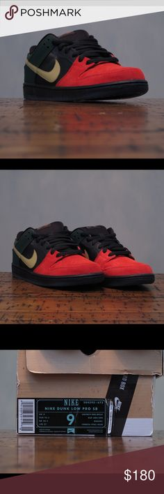 Brand New Nike SB Low BHM Deadstock Deadstock price is nonnegotiable please don't ask. Nike Shoes Sneakers