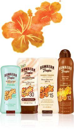 Hawaiian Tropic® #MBFWSwim #PinIt2WinIt!