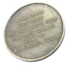 the sober chip.