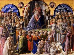 Incoronazione Maringhi o della Vergine-Filippo Lippi