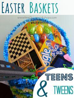 Easter Baskets for Teens & Tweens   6 Frugal Ideas