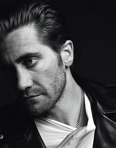 JAKE GYLLENHAAL BY HEDI SLIMANE FOR VMAN