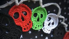 Skull Halloween Decoration Bunting Day of the Dead Party