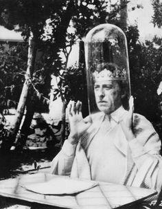 Jean Cocteau dans 8 x 8 (Hans Richter & Jean Cocteau, 1957)