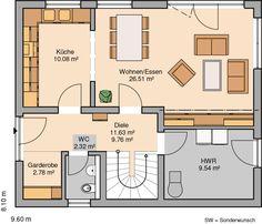 Deco, My Dream Home, House Plans, Pergola, Floor Plans, Farmhouse, Construction, Flooring, How To Plan