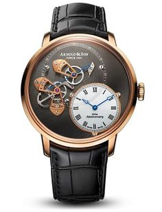 """Arnold and Son DSTB """"Dial Side True Beat"""" Watch New For 2014"""