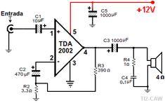 Amplificador TDA2002