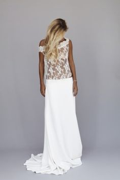 Rime Arodaky - Nouvelle collection ... For a Wedding Dress Guide & wedding ideas for brides, grooms, parents & planners ... https://itunes.apple.com/us/app/the-gold-wedding-planner/id498112599?ls=1=8 ♥ http://pinterest.com/groomsandbrides/boards/ ♥