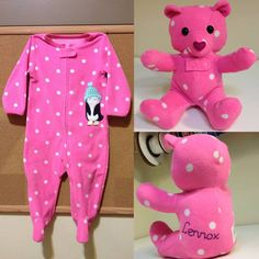 Creative Ideas - Turn Outgrown Baby Clothes Into Keepsake Teddy Bears #craft #baby #keepsake