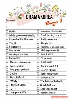 Check your drama that you've been watch ! Korean Drama List, Korean Drama Quotes, Korean Drama Movies, Ver Drama, Great Movies To Watch, Bingo Template, Instagram Story Questions, Best Kdrama, Gu Family Books