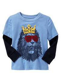 """KING OF COOL""  http://www.gap.com/browse/product.do?cid=85216=1=914709012"