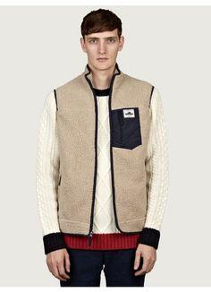 Penfield Men's Lassen Pile Fleece Vest