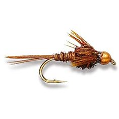 Bead head American pheasant tail (recipe on link)
